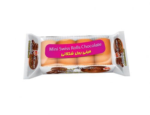 کیک مینی رول 4 حبه